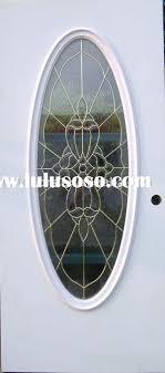 15 lite glass insert steel door exterior glass door metal glass door