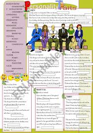 Good Work Traits Personality Traits Esl Worksheet By Donapeter