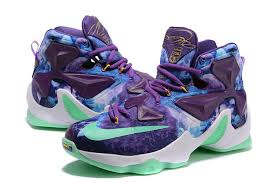 ... Mens Nike Lebron 13 Basketball Shoes Memory Of 25K Purple  Max2016flyknit.com