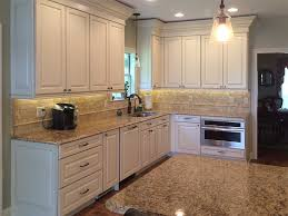 custom granite countertops in a kitchen remodel