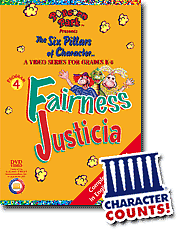 fairness justice lesson plan the six pillars of character the video