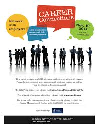 fall career connections networking event