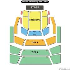 Holland Performing Arts Center Omaha Seating Chart