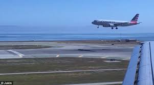 parallel planes in sports. the two planes begin their descent simultaneously at san francisco airport parallel in sports e