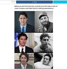 Non, Justin Trudeau n'est pas le fils ...