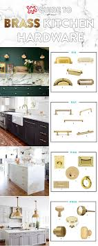 All About That Brass A Kitchen Hardware Shopping Guide Renovating