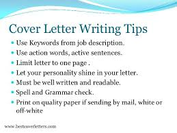 Words To Use In A Cover Letter Words To Use In A Cover Letter Resume Pro