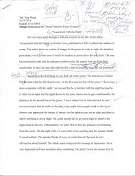 english d yuk ting wong s eportfolio textual analysis of a poem essay draft 1 a