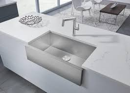 blanco farmhouse sink. Simple Sink BLANCO Launches The Innovative PRECISION R0 Farmhouse Sink Crafted Of Its  Groundbreaking DURINOX Material In Blanco S