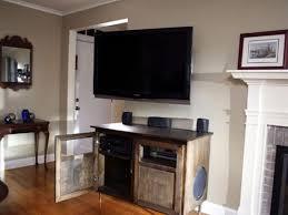 Tv Entertainment Stand A Modern Flat Screen Tv And Entertainment Center Solution Hgtv
