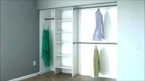closet rod installation closet rods pull out rod down double hang how to a on wall closet rod installation