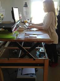 stand at desk to work best 25 sit ideas on standing desks 18