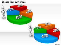 Powerpoint Pie Chart Animation 0214 Build A New Pie Chart For Business Result Ppt Graphics