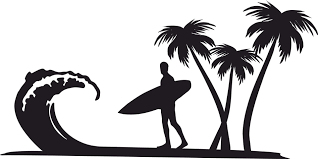 Image result for surfer clip art