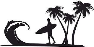 Image result for surfer clip art