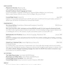 College Resume Template 2018 Stunning College Freshman Student Resume Samples Freshman College Student