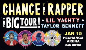 Rimac Arena Seating Chart Chance The Rapper The Big Tour Tickets In San Diego At