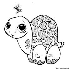 Small Picture Turtle Coloring Pages Printable Coloring Pages Free Animal Baby