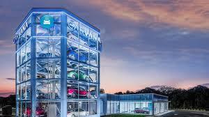 Car Vending Machine Tempe Interesting Carvana Builds Largest Car Vending Machine Near Phoenix Headquarters