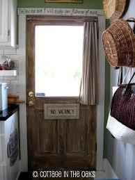 Reclaimed Kitchen Doors Faux Reclaimed Barn Wood Door