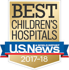 Top Ranked Pediatric Cancer Program in Florida Again in 2017-2018