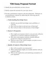 Essay Proposal Example Essay Proposal Example Free Junior Template