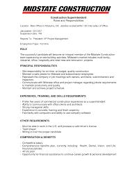 Company Resume Templates Construction Company Resume Template Guatemalago