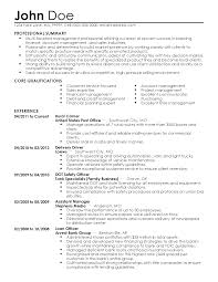 Sample Resume For Letter Carrier - Starengineering