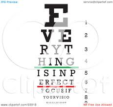 Royalty Free Rf Clipart Illustration Of A Focused Eye