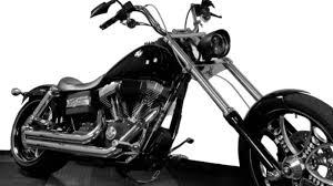 custom harley davidson dyna street bob 240 wide rear tire raked you