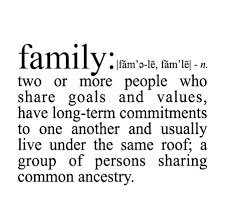 Meaning Of Family Quotes Gorgeous Family Definition Wall Quotes™ Decal WallQuotes