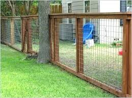wire fence ideas. How To Build A Hog Wire Fence Best Dog Purchase Ideas