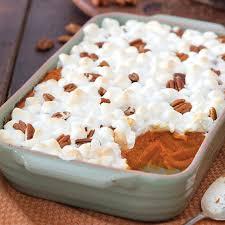 sweet potato casserole with marshmallows paula deen. Fine Deen Classic Sweet Potato Casserole Throughout With Marshmallows Paula Deen S