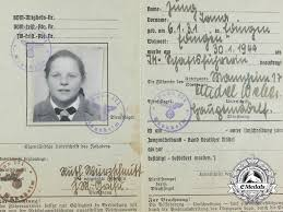 bdm League Germany German Girls Card Of Leader Id A