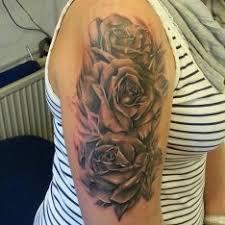 Tetování Květiny Rameno Tetování Tattoo