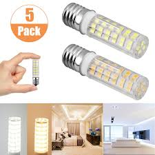 Details About 5 Pack 7w Intermediate Base E17 Led Microwave Oven Appliance Light Bulb 650lm Us