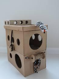 Cat Playhouse Designs Inexpensive Cat Playhouse Diy Tunnels Circles Glee Cats