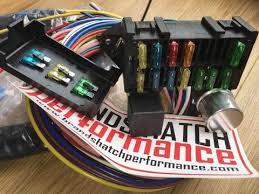 12 circuit classic car kit car wiring loom inc fuse box, relay and fuse box caravan 2007 12 circuit classic car kit car wiring loom inc fuse box, relay and flasher