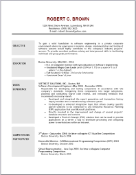simple job resume objective sample resumes templates cover letter gallery of job resume objectives