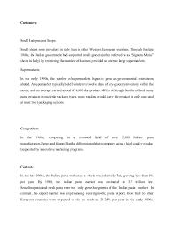 barilla spa case study 4