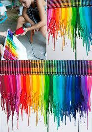 more diy ideas how to make colorful wall art