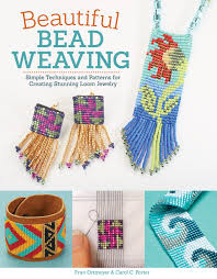 Bead Weaving Patterns Enchanting Amazon Beautiful Bead Weaving Simple Techniques And Patterns