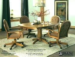 castor dining chairs bdorman dining room chairs with casters