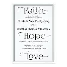 christian invitations & announcements zazzle Wedding Card In Christian simple contemporary christian wedding invitations wedding card christian messages