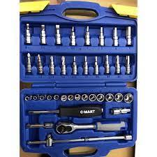 Bộ dụng cụ đa năng đầu tovit đầu tuýp 38 chi tiết chính hãng C-MART - Bộ  dụng cụ đa năng Thương hiệu C-Mart