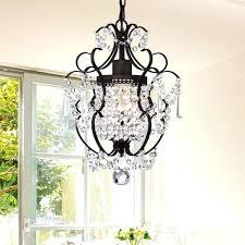 crystal and bronze chandelier 1 light antique bronze inch crystal chandelier hampton bay oil rubbed bronze