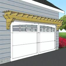 trellis over garage door best garage pergola ideas on garage trellis pergola over garage free garage