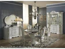 italian white furniture. luxury italian white living u0026 dining room furniture with diamante inserts italian white furniture