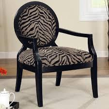 lovable zebra print accent chair animal print accent chair zebra coaster furniture furniturepick