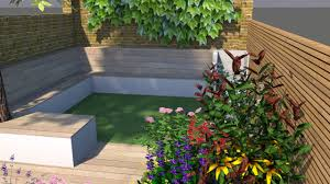 Small Picture Chic Small Kentish Town Garden Design Fork Garden Design
